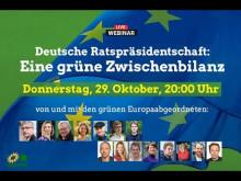 Deutsche Ratspräsidentschaft: Eine grüne Zwischenbilanz